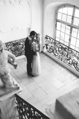 Nadja Morales begleitet eine standesamtliche Hochzeit.