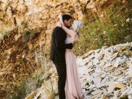 Nadja Morales fotografiert frisch vermähltes Brautpaar aus Ingolstadt.